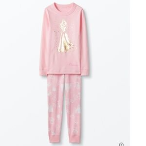 NWT Sleeping Beauty Organic Long John Pajamas 3T